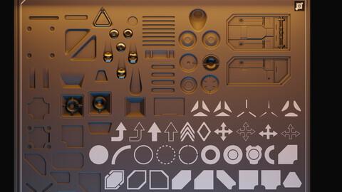 VPF_2D&3D Starter Decal Set