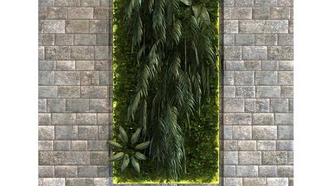 vertical plant set 092
