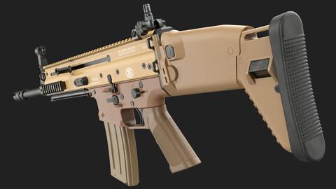 FN SCAR-L 16S (Game Ready)
