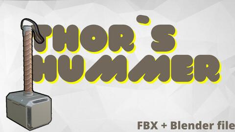 Thor`s hummer