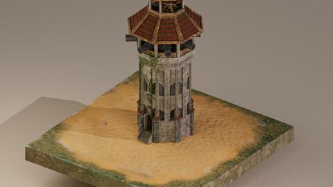 Archer Tower Level 20 3D Model