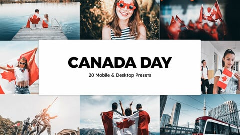 20 Canada Day LUTs and Lightroom Presets
