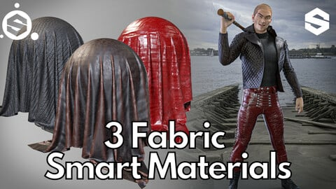 3 Fabric smart material : Punk outfit