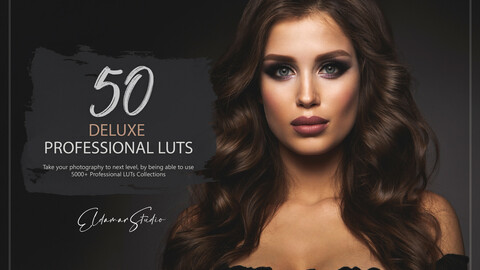 50 Deluxe LUTs Pack