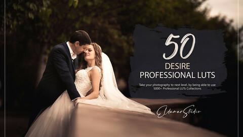50 Desire LUTs Pack