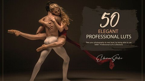 50 Elegant LUTs Pack
