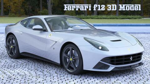 Ferrari f12 sport car
