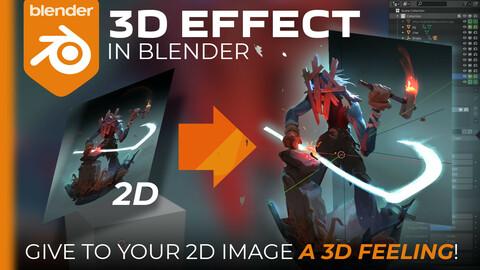 3D Effect in Blender!