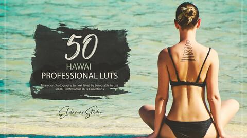 50 Hawaii LUTs Pack