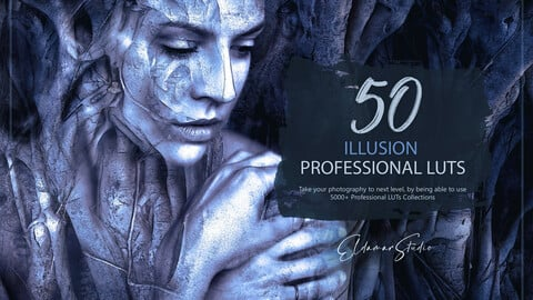 50 Illusion LUTs and Presets Pack
