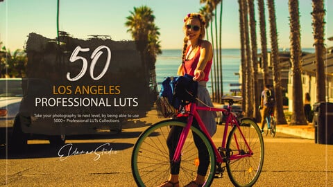 50 Los Angeles LUTs and Presets Pack