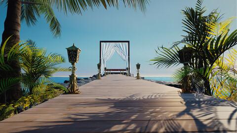 Exterior Beach Scene
