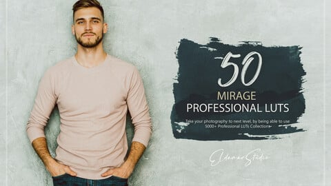 50 Mirage LUTs and Presets Pack
