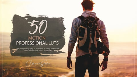 50 Motion LUTs and Presets Pack
