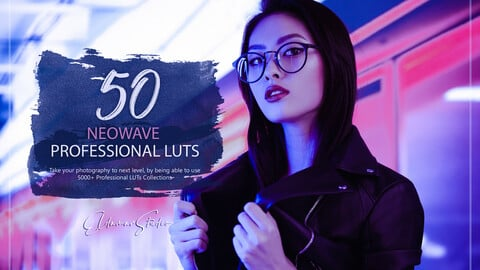 50 Neowave LUTs and Presets Pack
