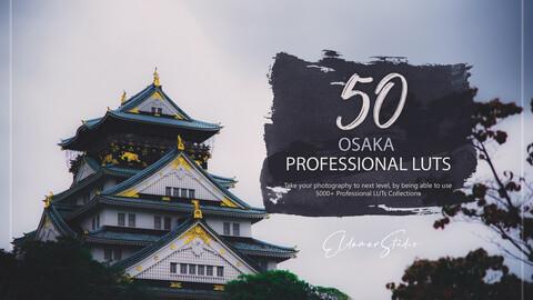 50 Osaka LUTs and Presets Pack