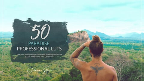 50 Paradise LUTs and Presets Pack