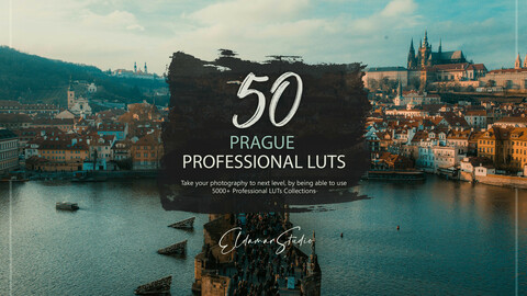 50 Prague LUTs and Presets Pack