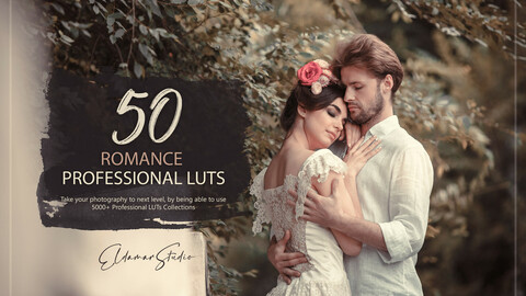 50 Romance LUTs and Presets Pack