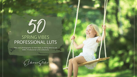 50 Spring Vibes LUTs Pack