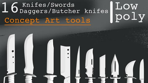 KNIFES AND SWORDS by ISFAN