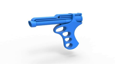 Cosplay 3D printable Pistol from the movie The Black Hole 1979