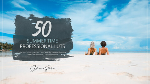 50 Summer Time LUTs and Presets Pack