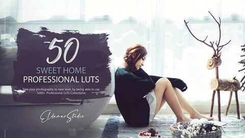 50 Sweet Home LUTs and Presets Pack