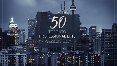 50 Toronto LUTs and Presets Pack