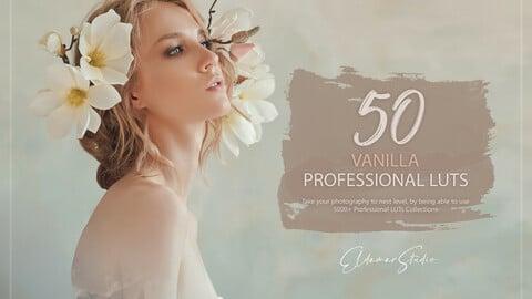 50 Vanilla LUTs and Presets Pack