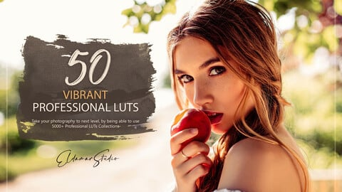 50 Vibrant LUTs and Presets Pack