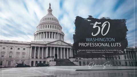 50 Washington LUTs and Presets Pack