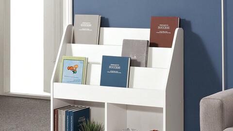 Multipurpose magazine rack