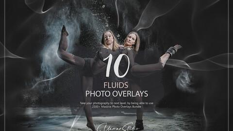 10 Fluids Photo Overlays