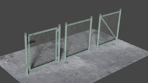Fence 3 - 3D-Model