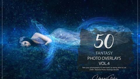 50 Fantasy Photo Overlays - Vol. 4