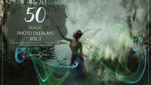 50 Magic Photo Overlays - Vol. 1
