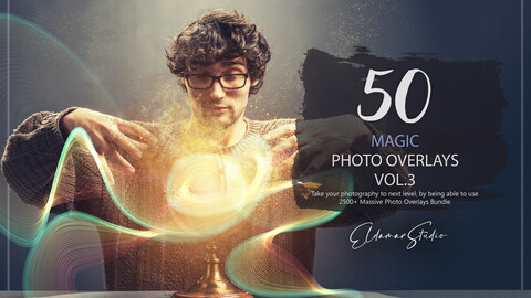 50 Magic Photo Overlays - Vol. 3