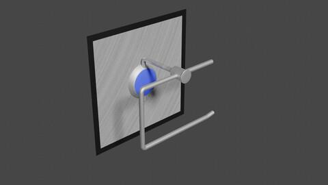 Toilet Role Holder - 3D-Model
