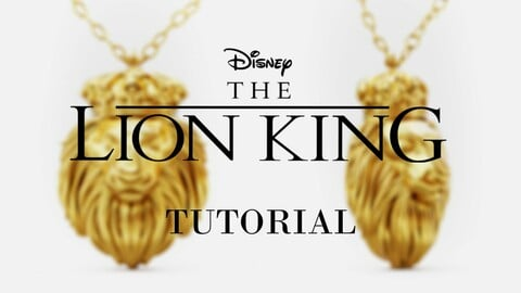 The Lion King Necklace Course (fan made)