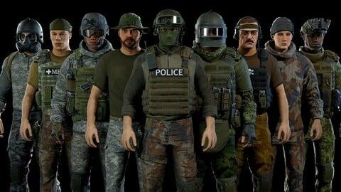 Modular military character 2