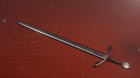 Medieval classic long sword