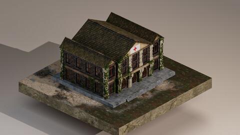 Medieval Hospital 3D Model