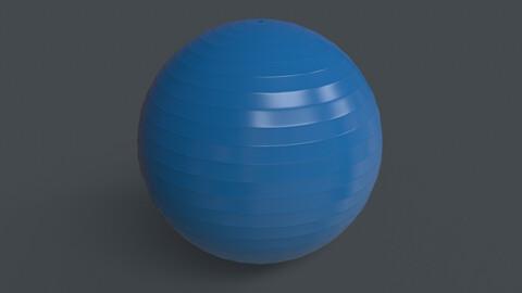 PBR Yoga Ball - Blue Light