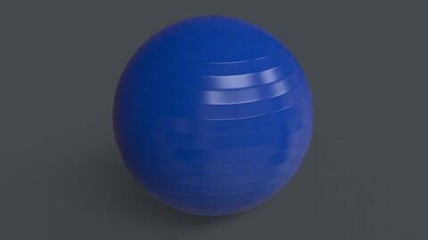 PBR Yoga Ball - Blue