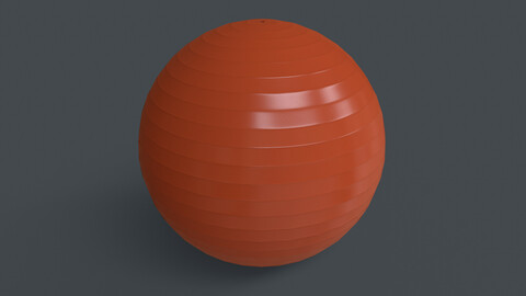 PBR Yoga Ball - Orange