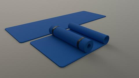 PBR Yoga Mat - Blue