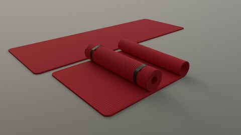 PBR Yoga Mat - Red