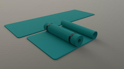 PBR Yoga Mat - Tiffany Blue
