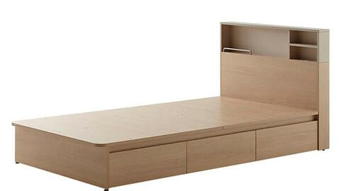 Storage bed 1100 size